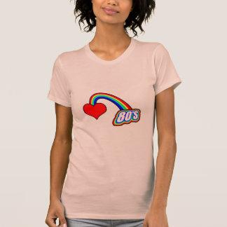 Herz-80er T-Shirt