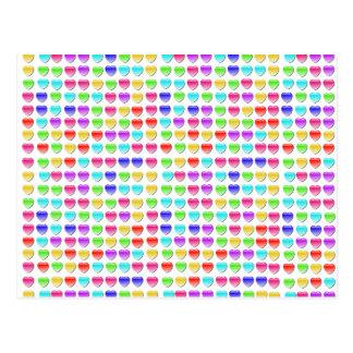 Herz-Abbruchs-Spiele Postkarte