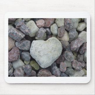 Herz aus Stein Mauspad