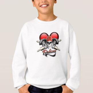 Herz-Backen Sweatshirt