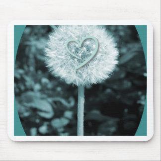 Herz blume Herz-Blume Mousepad
