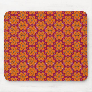 Herz-Blumen-Muster Mousepads