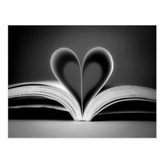 Herz-Buch-Fotografie Postkarten