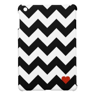 Herz & Dachsparren - schwarz/rot klassisch Hülle Für iPad Mini