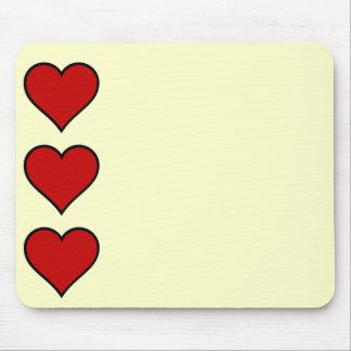 Herz der Herzen Mousepad