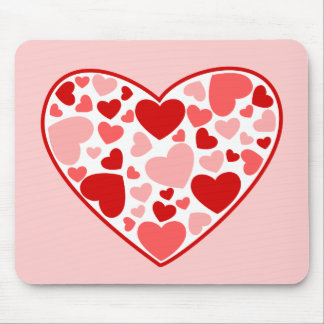 Herz der Herzen Mauspads