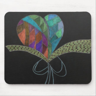Herz der Liebe Mauspad