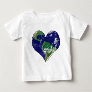 Herz der Welt Baby T-shirt