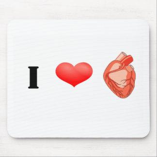 Herz des Herzens I! Mousepad