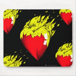 Herz-Filz Mousepad