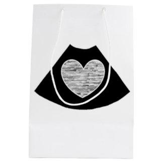 Herz-Geschenk-Tasche Mittlere Geschenktüte