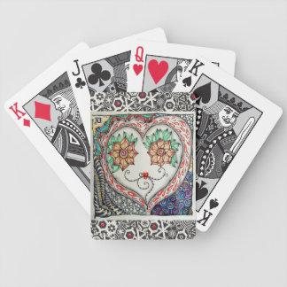 Herz-Gesichts-Spielkarten Bicycle Spielkarten
