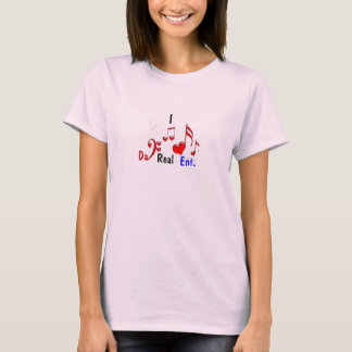 Herz I DA-wirkliches HNO T-Shirt