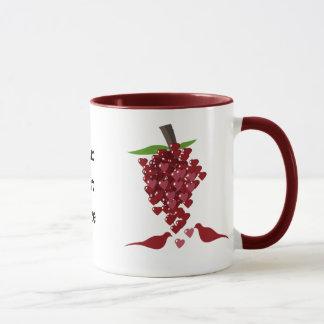 Herz-Liebe-Thema Tasse