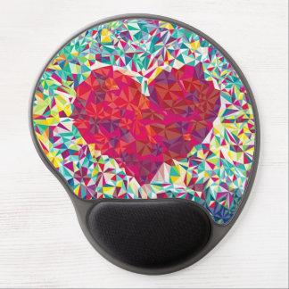 Herz-Mausunterlage Gel Mouse Matte
