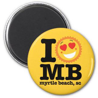 (Herz) MB I Runder Magnet 5,7 Cm