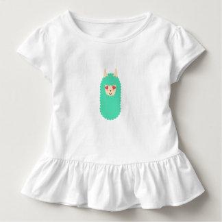 Herz-mit Augen Liebe-Lama Kleinkind T-shirt