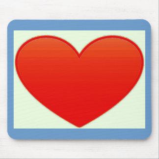 Herz mousepad