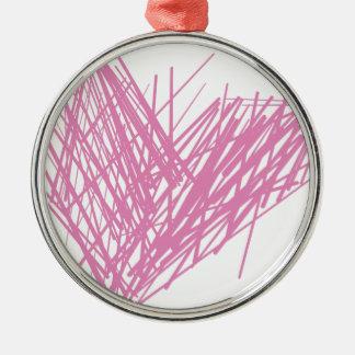 Herz Silbernes Ornament