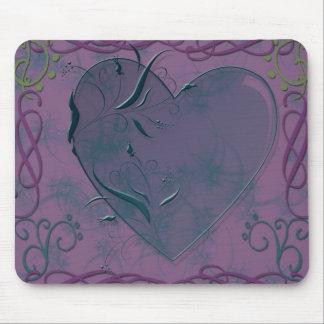 Herz und Wirbel Mousepad