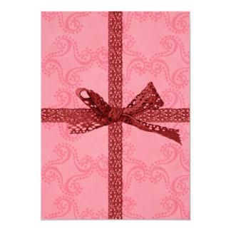 Herz-Valentinstag-Geburtstag laden für Mädchen ein 12,7 X 17,8 Cm Einladungskarte