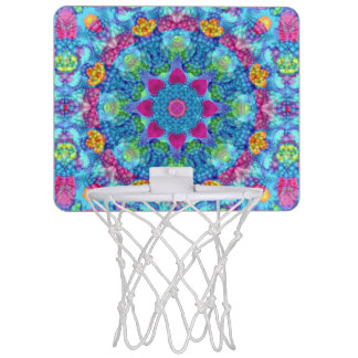 Herz-Vintage Kaleidoskop-Basketball-Bänder Mini Basketball Netz