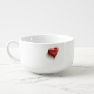 Herz von Amerika-Tasse Große Suppentasse