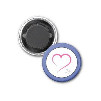 Herz-Ziel-Magnet Runder Magnet 3,2 Cm