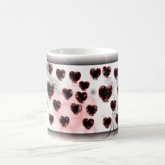 Herzen für Valentinsgruß Tasse