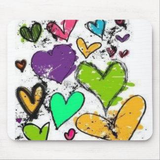 Herzen ♥ mauspads