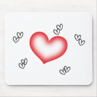 Herzen Mauspad