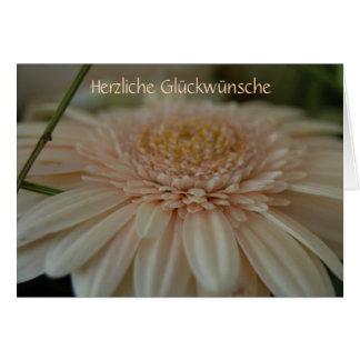 """""""Herzliche Glückwünsche"""" by mysteryella Karte"""