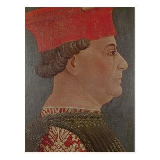 Herzog Francesco-Sforza von Mailand Postkarte