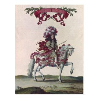 Herzog Philippe-I von Orleans Postkarte