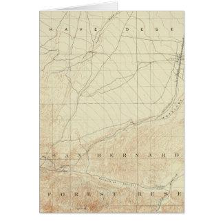 Hesperia Viereck, das San- Andreasriß zeigt Karte