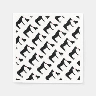 Hest Og Hund Party-Versorgungen Papierservietten