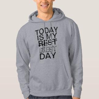 Heutiger Tag ist mein Kastentagesturnhallen-T - Hoodie