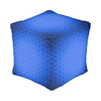 Hexagondekor Kubus Sitzpuff
