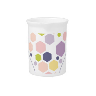 Hexahedrons innerhalb Ideen-Birnen-der abstrakten Getränke Pitcher