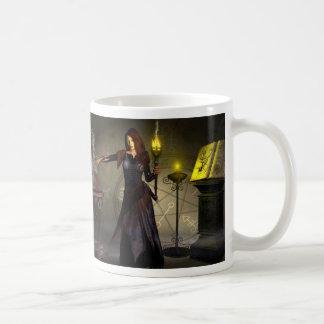 Hexe, die einen Bann wirft Kaffeetasse