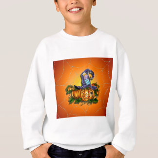 HEXE-HUT, JACK u. SPINNE durch SHARON SHARPE Sweatshirt