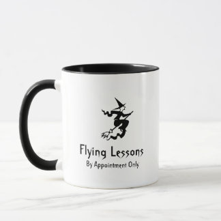 Hexebroomstick-Fliegen-Lektionen Tasse