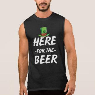 Hier für der das T-Stück des St. Patricks Männer Ärmelloses Shirt