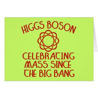 Higgs Boson, der Masse seit Big Bang feiert Karte