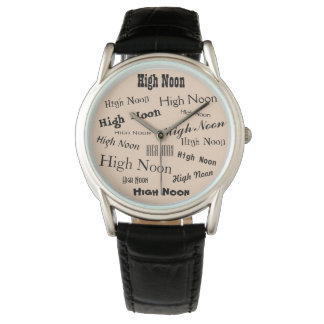 High Noon-Uhr Armbanduhr