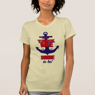 Hilfsbehälter ich bin- ich die Braut, zum T - T-Shirt