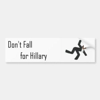 Hillary-Autoaufkleber Autoaufkleber
