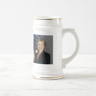 Hillary Clinton Bierkrug