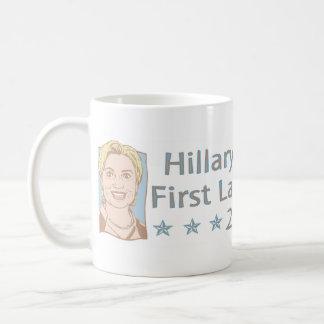 Hillary Clinton für erste Dame Präsident Tasse