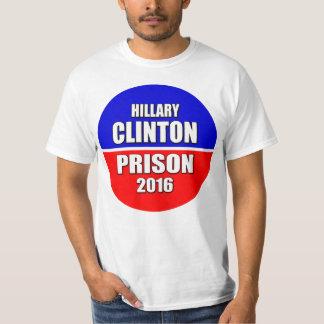 """""""HILLARY CLINTON FÜR GEFÄNGNIS 2016 """" T-Shirt"""